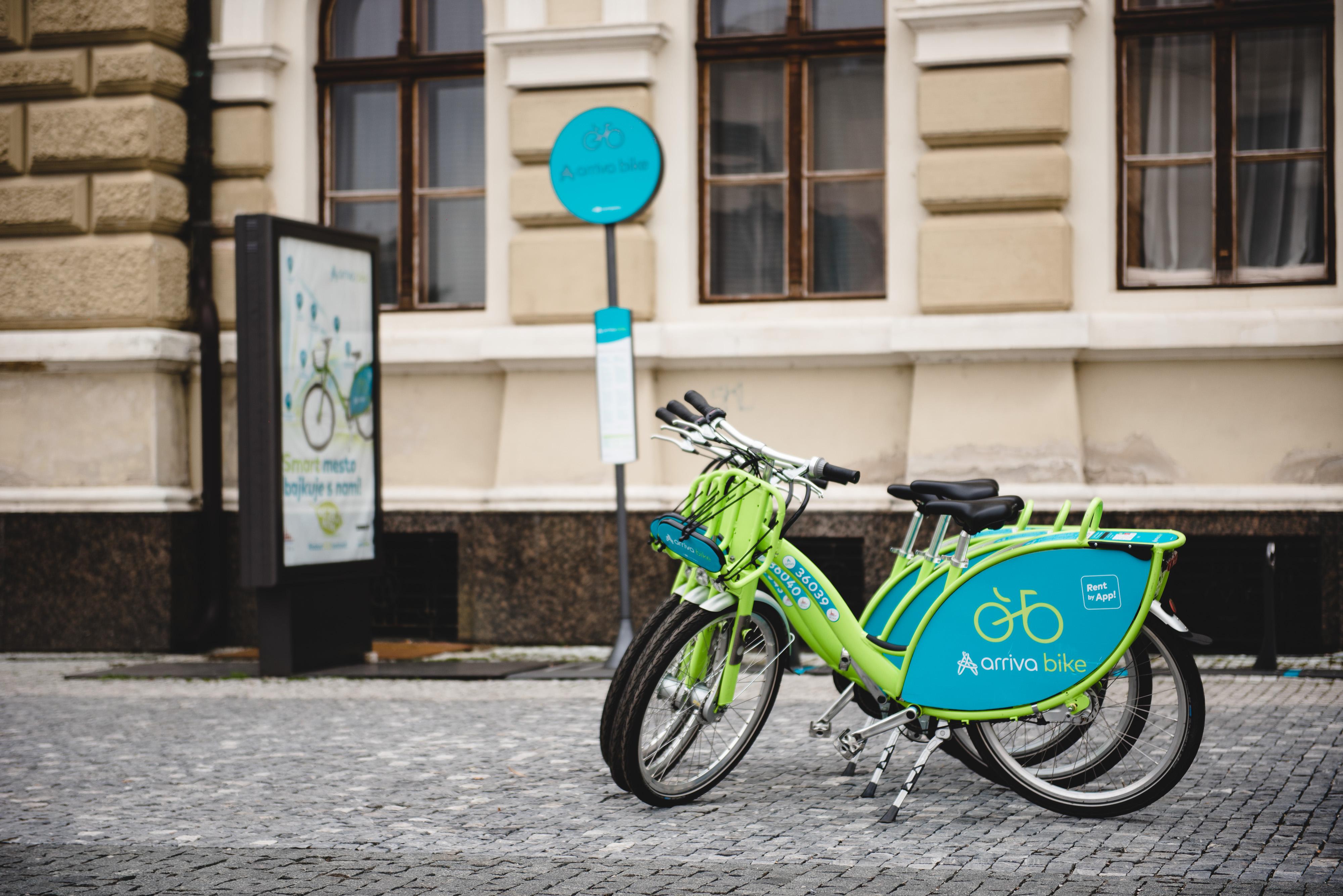 5b9017acf Zdieľané bicykle arriva bike môžu Nitrania - Kam v meste | moja Nitra
