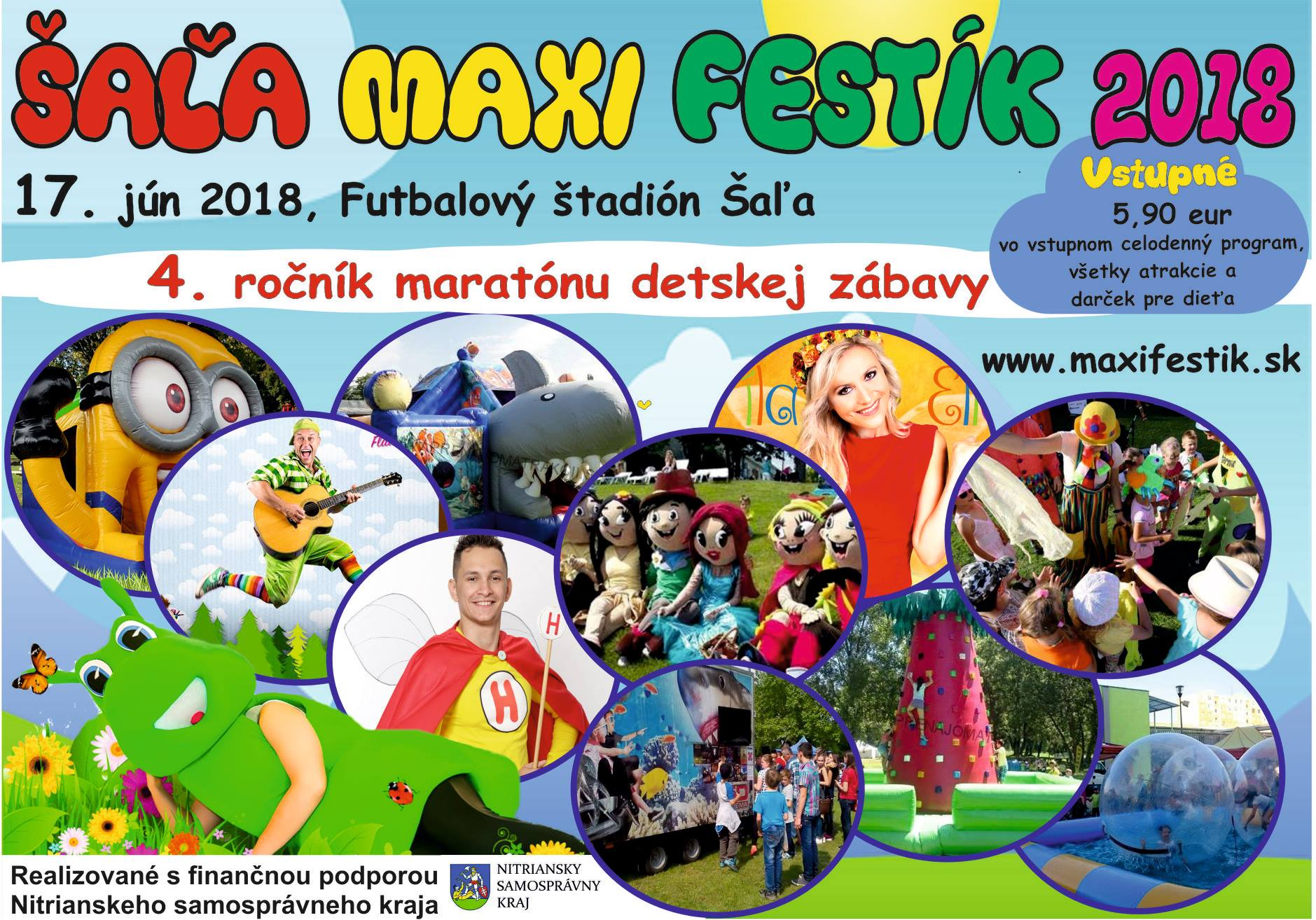 80f291a230fe V Šali sa bude konať celodenný maratón dets - Kam v meste